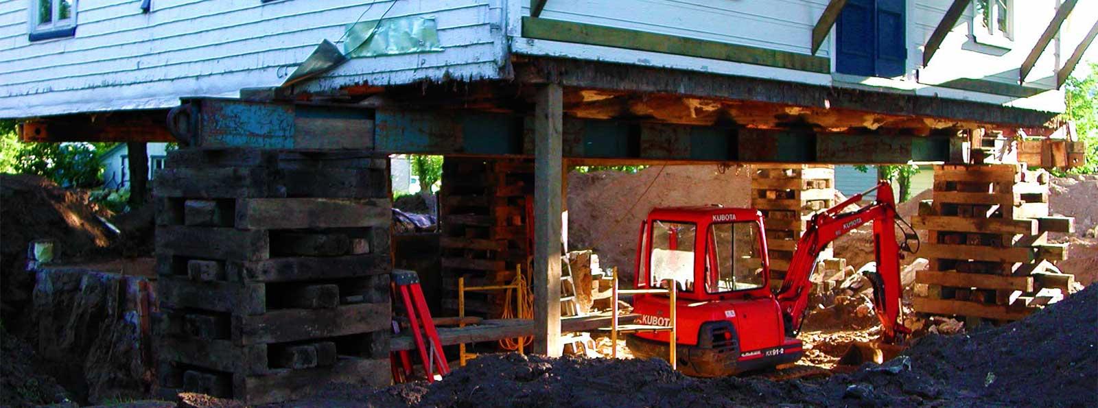 Excavation pour fondation